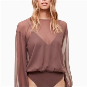 Wilfred Talmont Bodysuit Blouse